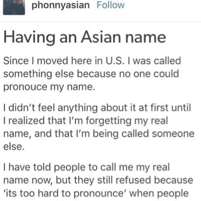 asian names aren't even hard to pronounce fr