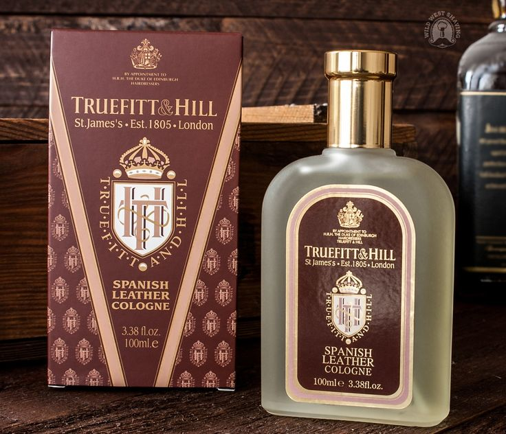 Truefitt & Hill SPANISH LEATHER Cologne - 100 ml