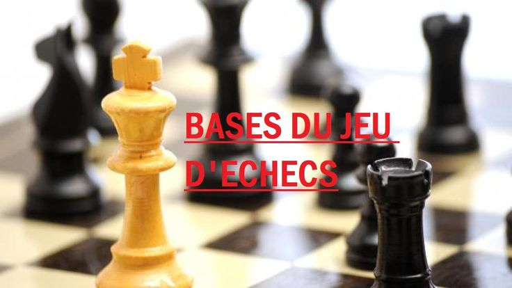 Apprendre les échecs: 1. Bases du jeu d'échecs (Débutant)