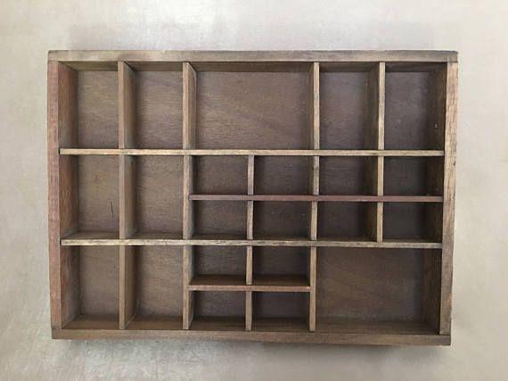 Wooden Shadow Box Enesco Shadow Box Wood Curio Shelf