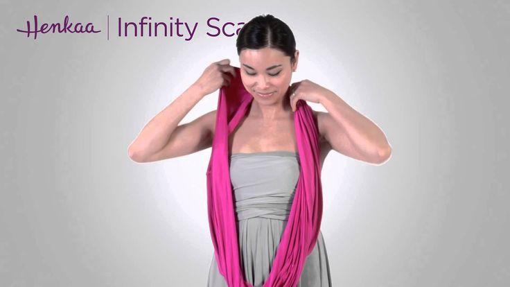 13 Ways To Wear An Infinity Scarf The Infinity Dress