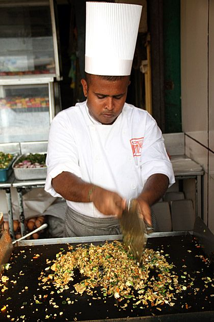 Kottu in Sri Lanka , thanks to Anthony Bourdian No Reservations, am now dead set on travelling the world to eat