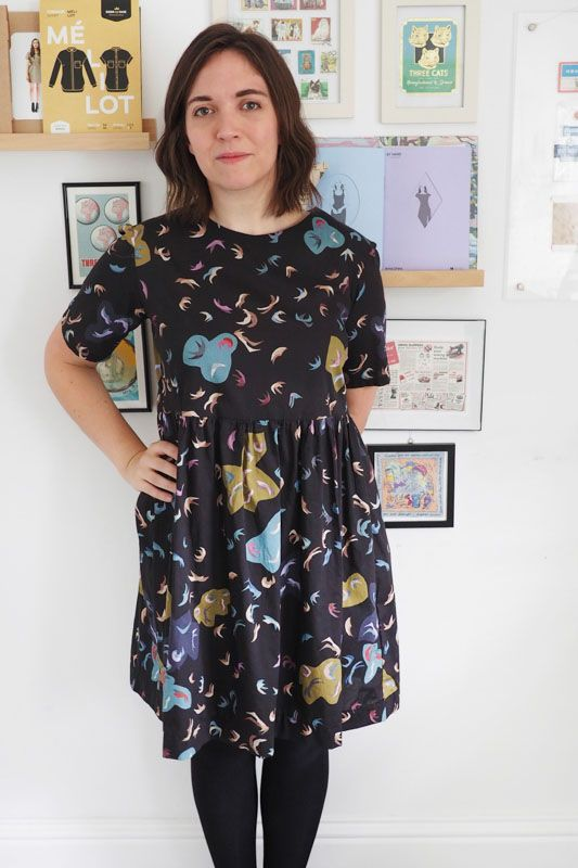 What Katie sews Sudley dress
