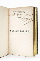FLAUBERT : Madame Bovary - Autographe, Edition Originale - Edition-Originale.com