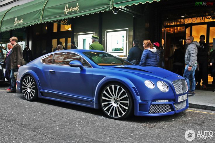 Bentley Continental GT Speed 2012 GTX Edition by ONYX Concept 2