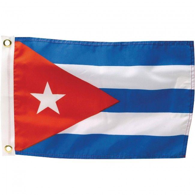 Cuba Flag Size 90cm X 150cm Material 100 Polyester Two Metal Grommets For Easy Flagpole Attachment Cuba Cuban Sport Fla Cuba Flag Flag National Flag