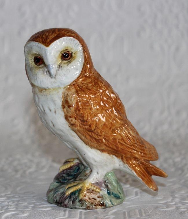 Vintage Beswick Barn Owl 2026 Porcelain England Bird