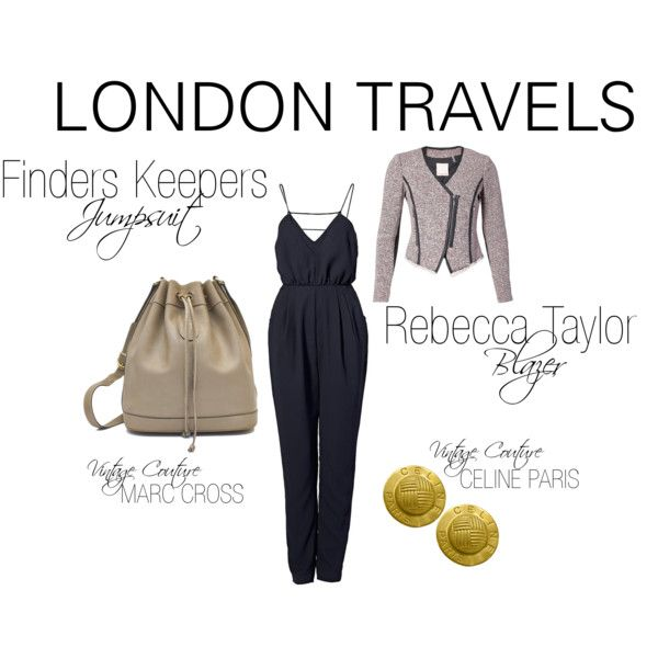 """""""London Travels"""" by shopeluxe on Polyvore"""