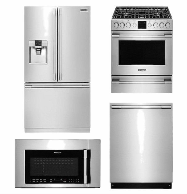 amazing Cheapest Kitchen Appliance Packages #6: Kitchen Renovation: Frigidaire Professional Appliances