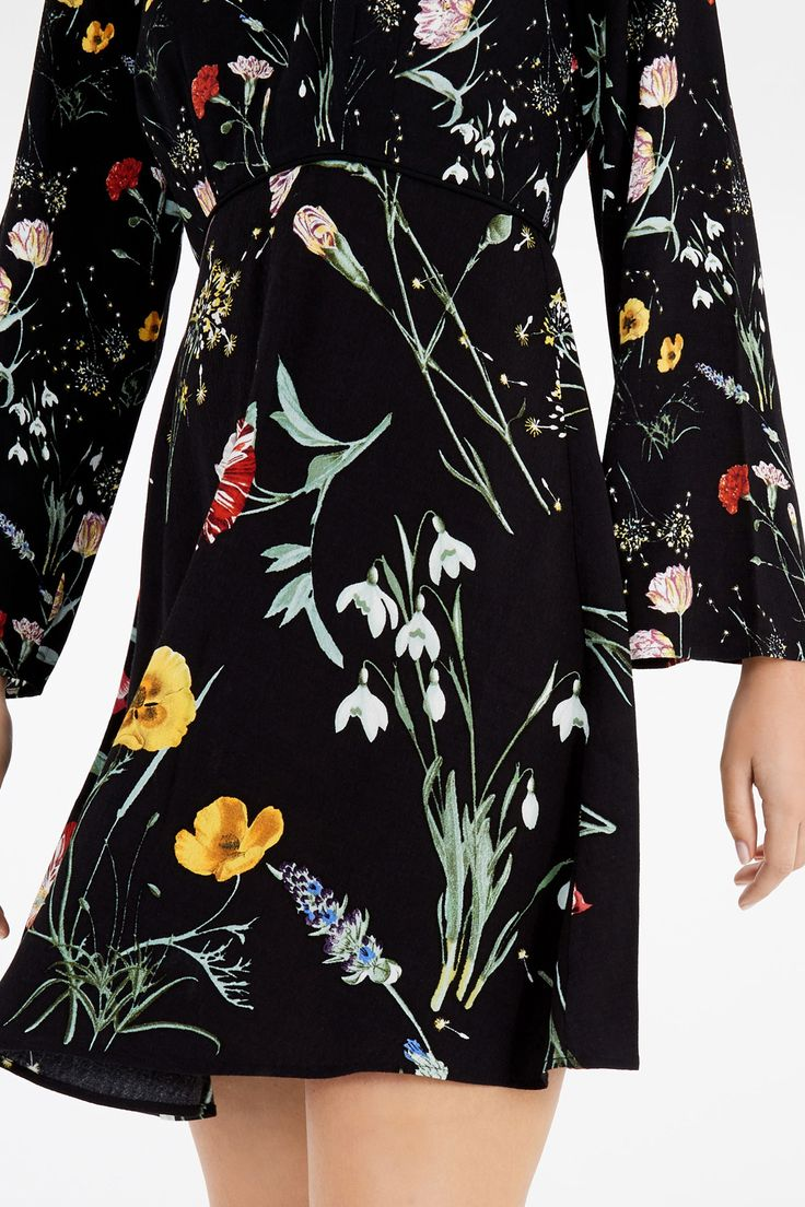 All   Other SCATTER FLORAL DRESS   Warehouse