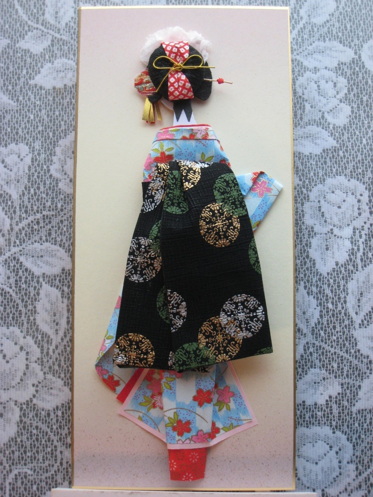 1000+ images about Japanese Origami Paper Dolls on Pinterest
