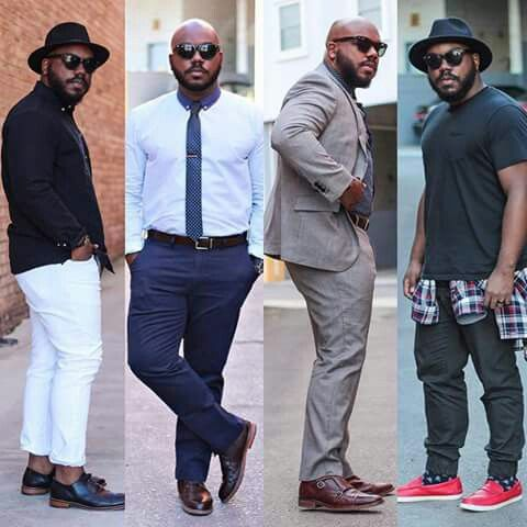 Notoriously dapper blog  Big handsome & stylish Man