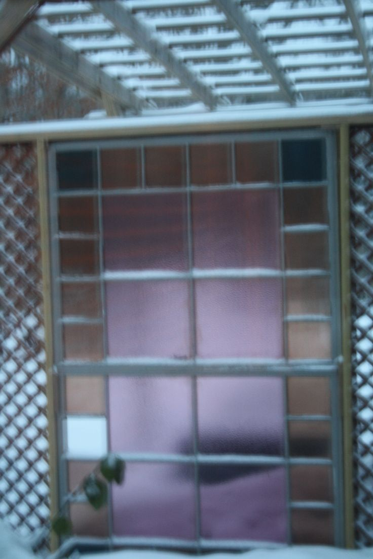 Stained Glass Windows from Church added onto Pergola | Rust-ED's own artwork | Pinterest ...