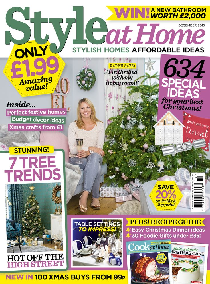 Merveilleux December 2015 Style At Home Magazine