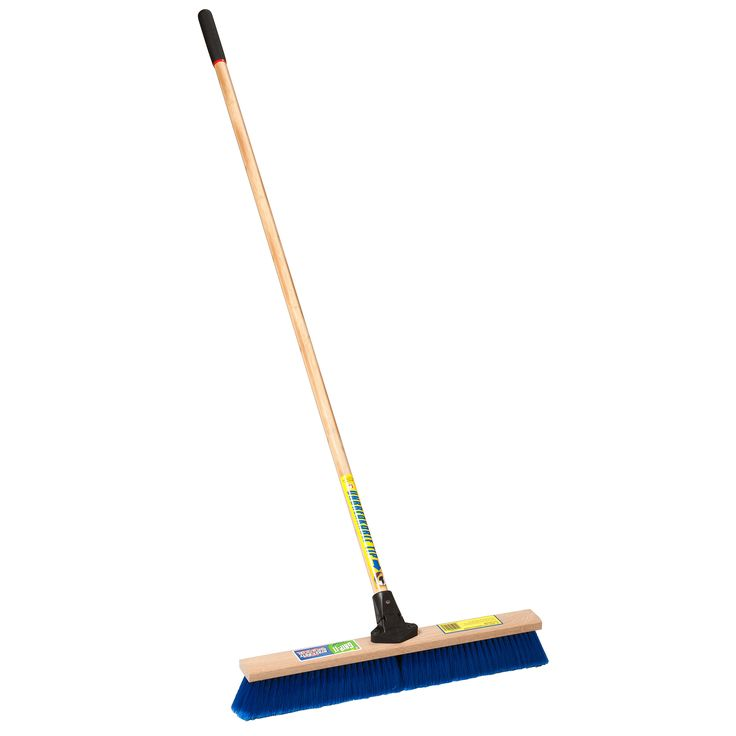 "Jensen Laitner Brush Company 1426A 24"" Medium Sweeping Push Broom"