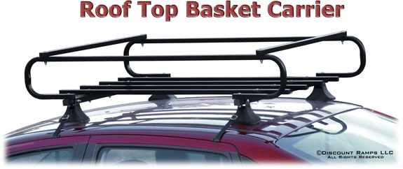Sand Rail Baskets : Strap attached basket for cars without rails quot l