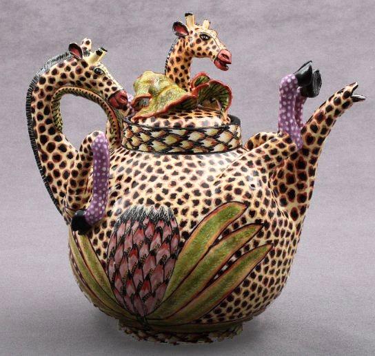 Giraffe Tea Pot