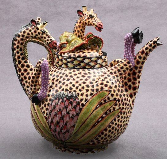 Giraffe Tea PotGiraffes Teas, Ceramic Teapot, Teas Time, I M, Teas Pots, Sweets Teapots, Amazing Teapots, Giraffes Teapots, Teapots Ii