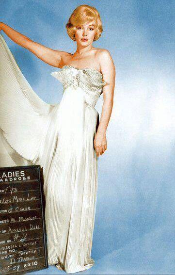 "Marilyn Monroe in wardrobe test for ""Let's Make Love"""