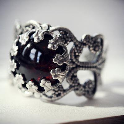 Garnet+Passion+Ring