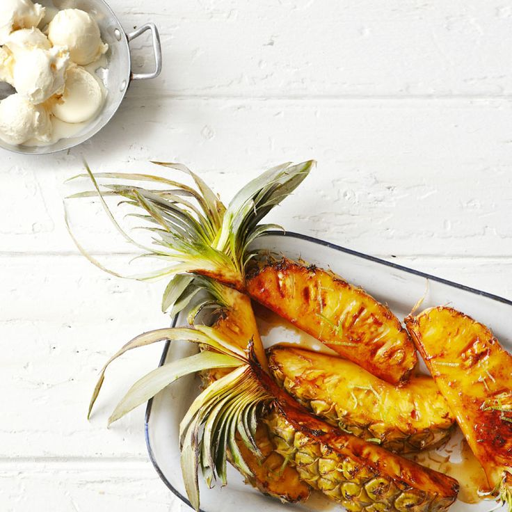 Mojito grilled pineapple | Recipes | Weight Watchers NZ