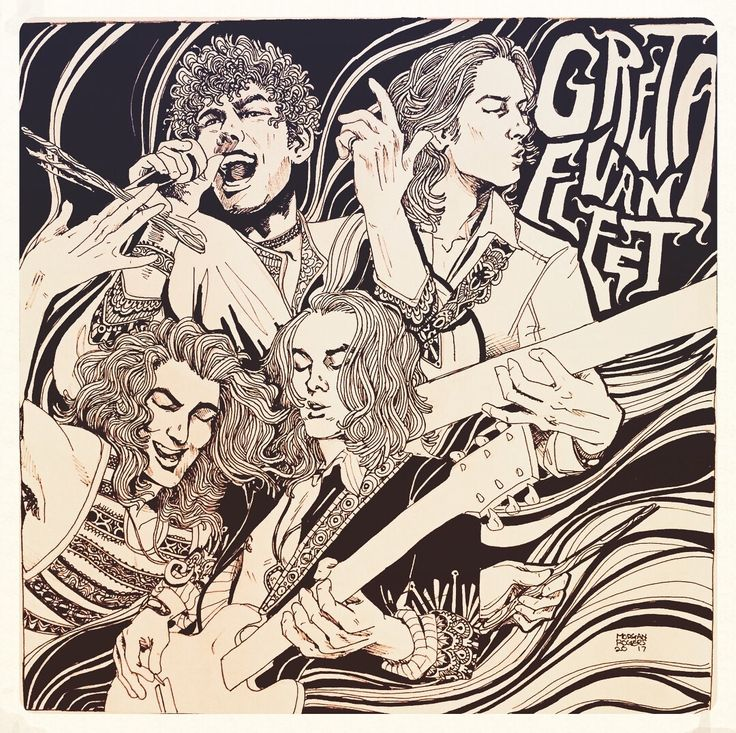 Interview: Getting to know the hottest new band out today Greta Van Fleet