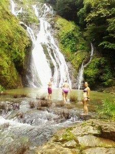Salto del Indio, water falls
