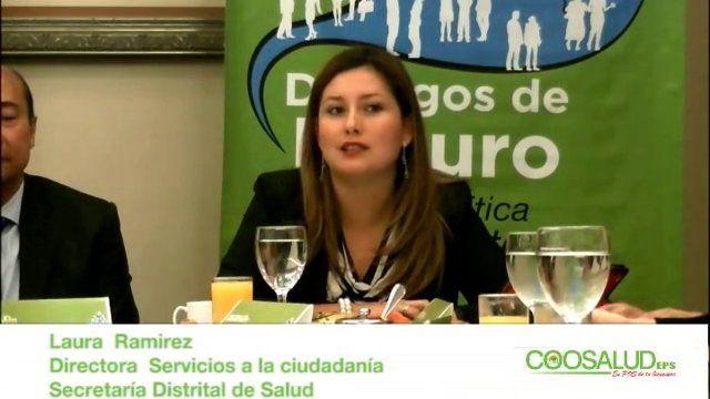Laura Ramirez, Directora Servicios a la Ciudadanía de la Secretaría de Salud de Bogotá, participó activamente en el desarrollo del primer Diálogo de Futuro Salud, que busca generar espacios de reflexión sobre la ética empresarial y la credibilidad del sector salud.