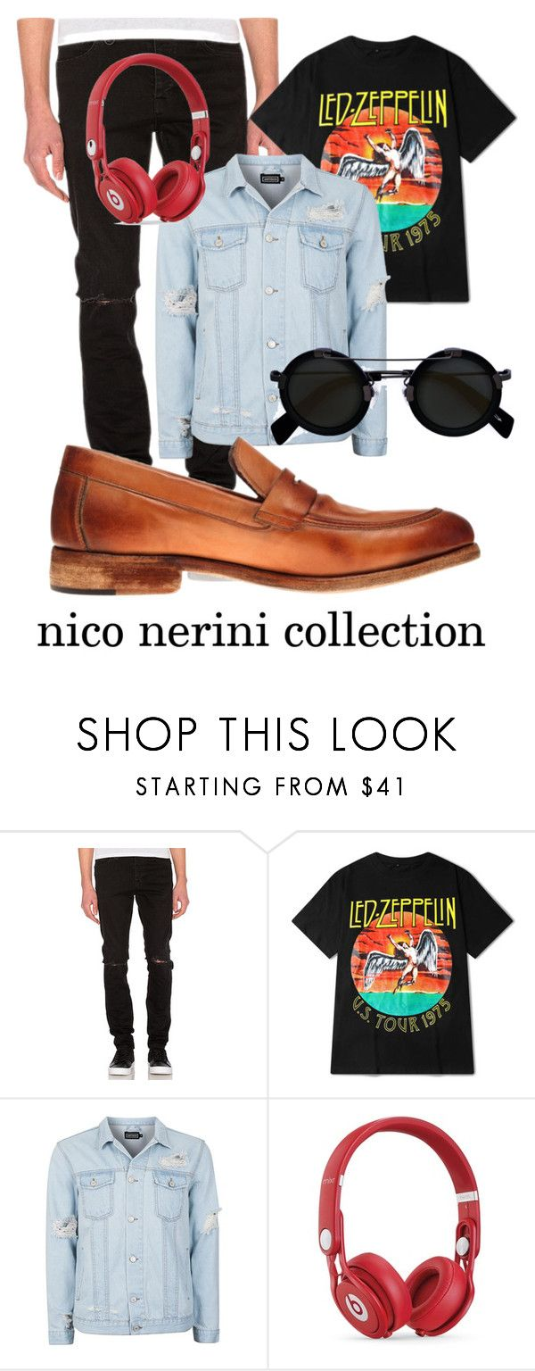 """Rock 'n' Roll Inspiration"" by nico-nerini on Polyvore featuring Neuw, Topman, Beats by Dr. Dre, Yohji Yamamoto, men's fashion e menswear"