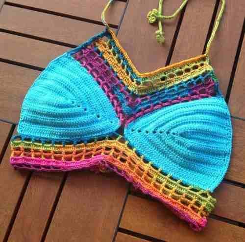 crop top crochet!!!
