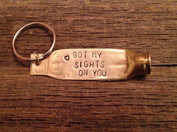Custom Bullet Keychain by LittlenLovelyDesigns on Etsy                                                                                                                                                                                 More