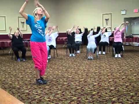 35 best images about chair exercise on pinterest workout for Chair zumba