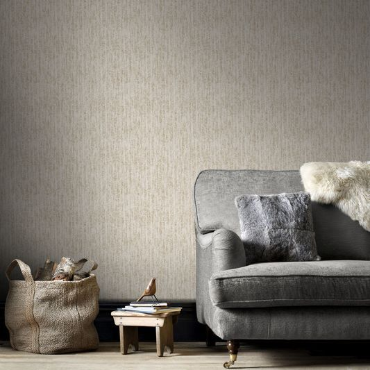 Devore Cream And Gold Wallpaper By Graham Brown