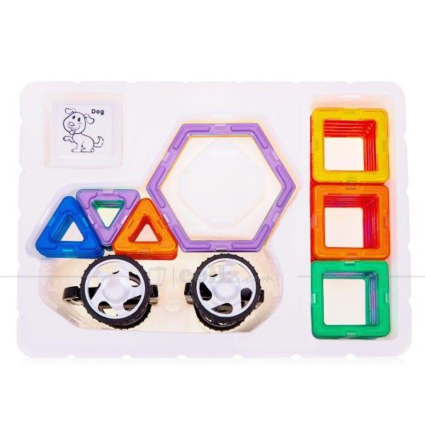 40 Pieces Intelligent Magnetic Construction Set for 3+ Ages Children #toys #age #kids #children #magnetic #construction #cellz
