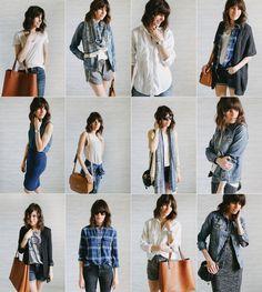 Guarda-roupas minimalista: um guarda-roupa que possui 37 (ou menos) peças no total, contando com partes de cima, partes de baixo, vestidos, casacos e sapatos