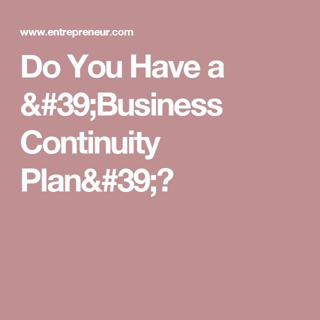 The 25+ best Business continuity planning ideas on Pinterest - emergency action plans