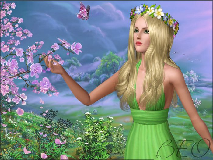 Spring for Sims 3 by BEO