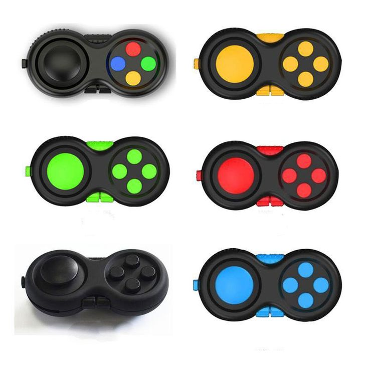 Xbox PlayStation fiddle fidget spinner EDC controller toy game pad