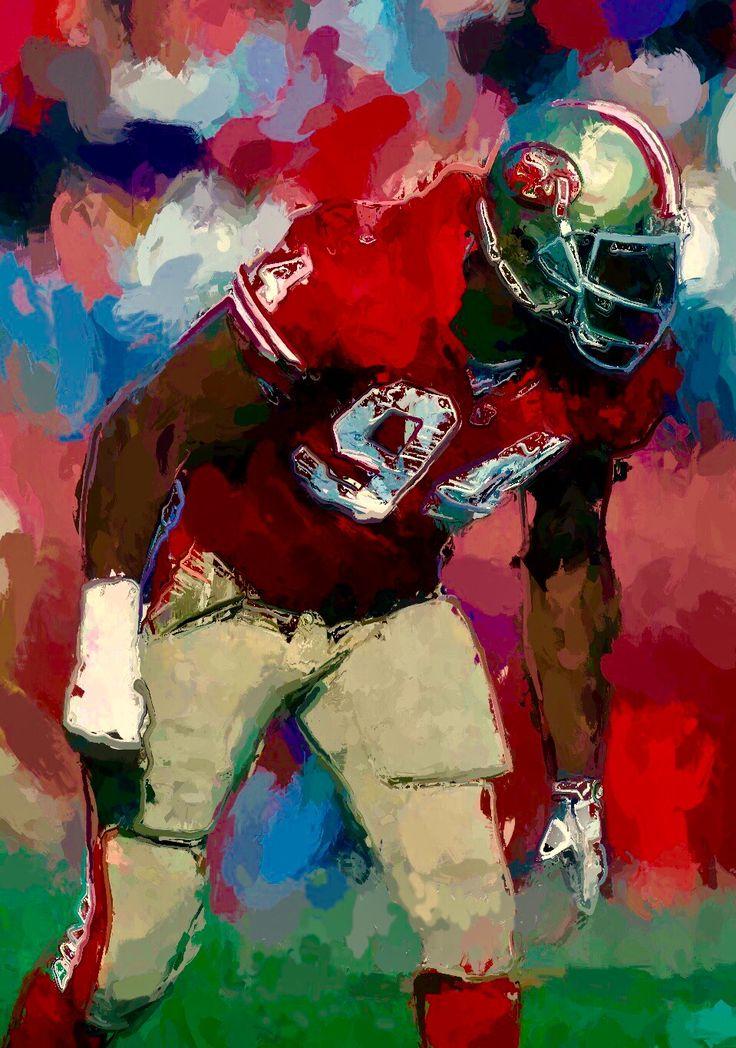Charles Haley. 2017. #charleshaley #sanfrancisco49ers #niners #49ers #ninerfaithful #legend #halloffame #nfl
