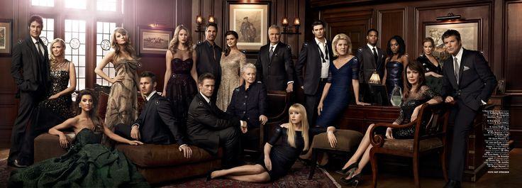 "Art Streiber's bellisimo photos of ""The Bold & the Beautiful"" cast for Vanity Fair Italia"