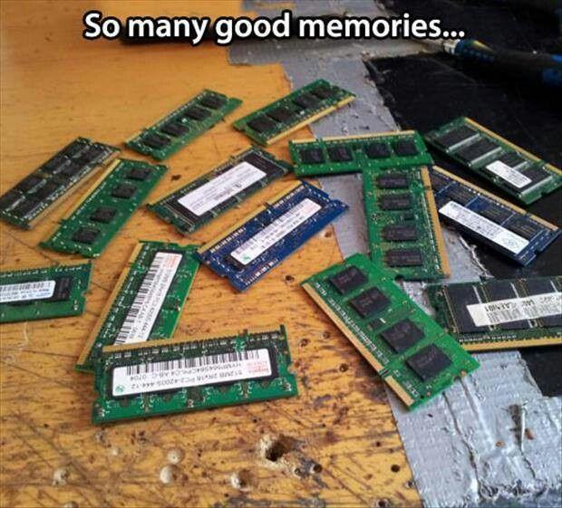 Image result for ram random-access memory jokes