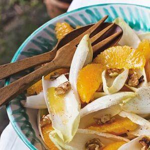 Gezond Dieet Recept: Witlofsalade met Sinaasappelstukjes