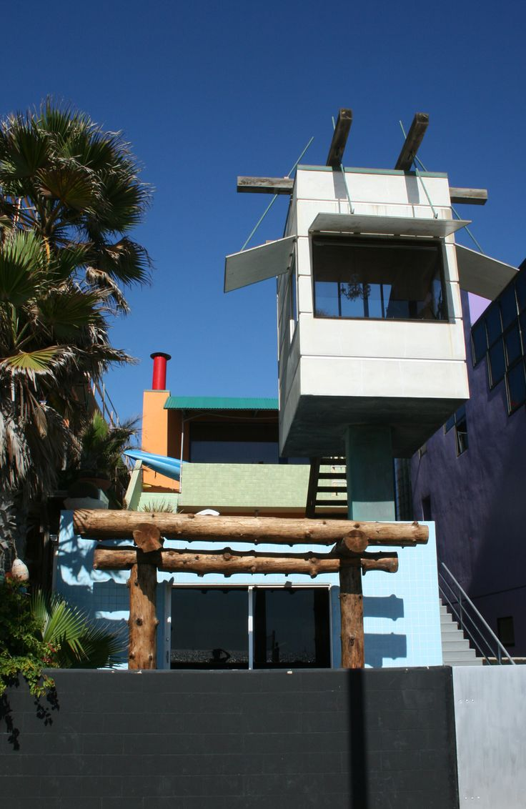 Ad classic norton house frank gehry archdaily - Norton House Venice Ca Frank Gehry