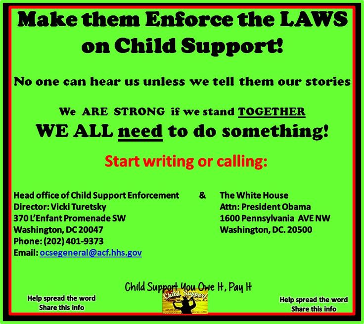 Call the Director at the head office of Child Support Enforcement in Washington DC and voice your opinion about past due child support. They set the laws they should enforce them!