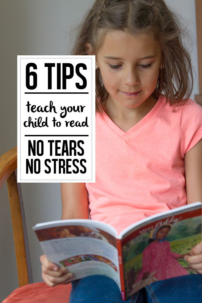Teach your 3-6 year old to read the no fail way!