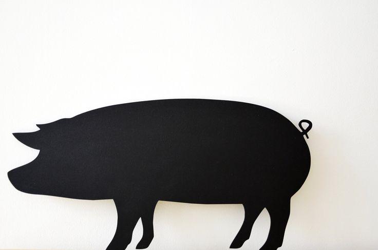 Tablica kredowa świnia/ Handmade by PanDekor pandekor.kontakt@gmail.com