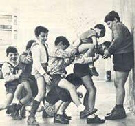 Juegos Tradicionales de Aragón: churro, mediamanga