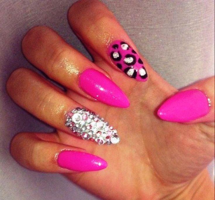 Stiletto Nail Design :http://naildesignart2015.com/2015/01/22/stiletto-nail-design/