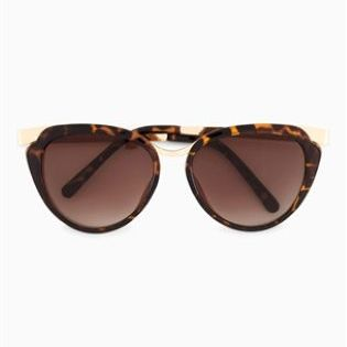 *NEXT || Tortoiseshell effect cat eye sunglasses | Gafas de sol con forma ojos de gato y efecto concha de tortuga