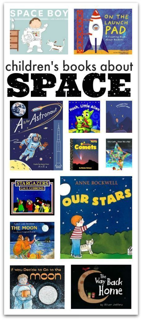 Picture Books About Space. Perfect for toddlers and preschoolers